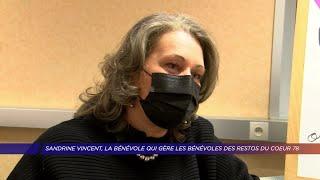 Yvelines | Sandrine Vincent, la bénévole qui gère les bénévoles des Restos du Coeur 78