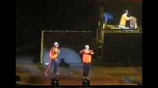 Beastie Boys LIVE - MMM Intro + Brass Monkey (Budokan, Tokyo 2005)