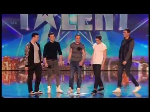 BRITAIN'S GOT TALENT 2014 AUDITIONS - COLLABRO
