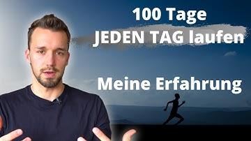 Das Selbstexperiment 100 TAGE LAUFEN (DAS ist passiert!)
