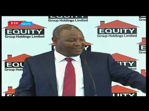 Equity bank posts a decline in profitabilty blaming poor economic performance