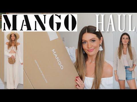 I SPENT £700 AT MANGO, IS IT WORTH IT? MANGO SUMMER HAUL & TRY ON