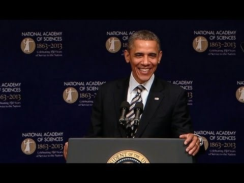 President Obama Speaks at the 150th Anniversary of the National Academy of Sciences