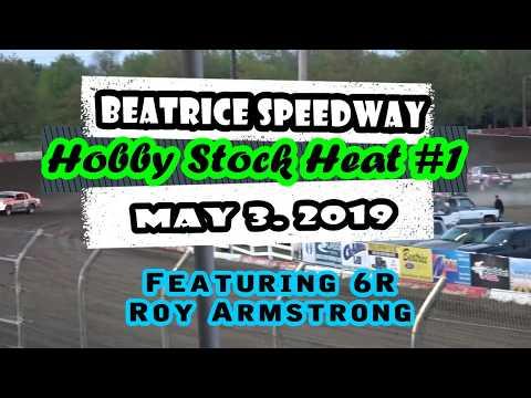 05/03/2019 Beatrice Speedway Hobby Stock Heat #1