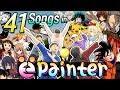일본 노래 41곡을 Painter에 넣고 불러보았다 (with 선생, 이츠라, 이내, 비니) Painter Sing Off