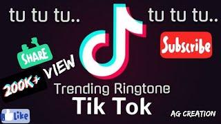 Tik Tok Trending Ringtone - tu tu tu | AG Creations