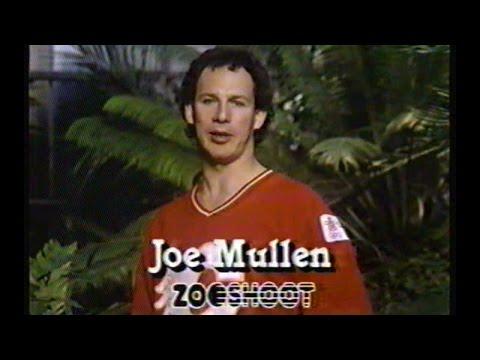 Joe Mullen Zoo Shoot Commercial, Sept 28 1987