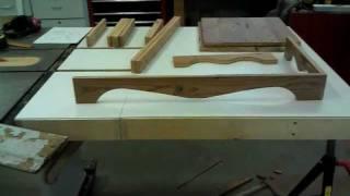 Homemade Gun Cabinet Part 1