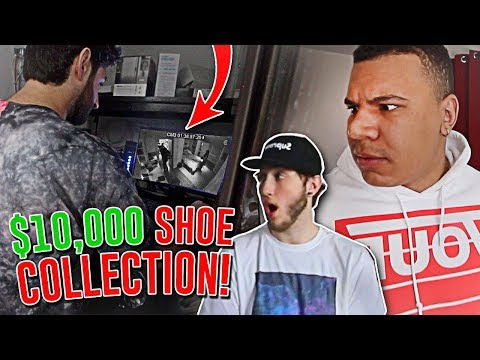 STEALING MY ROOMMATES $10,000 SHOE COLLECTION!! *CAUGHT ON TAPE*
