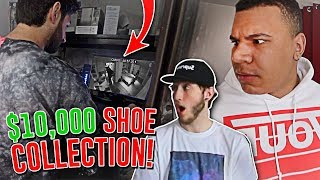stealing my roommates 10 000 shoe collection caught on tape