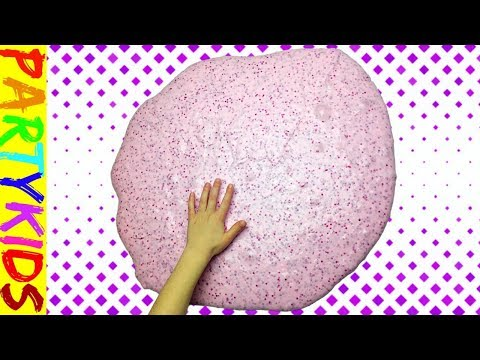 1 GALLON OF VALENTINE'S DAY FLUFFY SLIME! (GIANT SIZED)