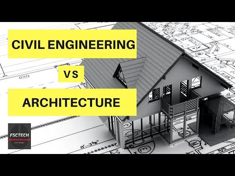Civil Engineering Vs Architecture | Comparison 2017, 2018