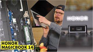 Honor MagicBook 14 Notebook Test (vs. Xiaomi Mi Air) | CH3 Review Deutsch