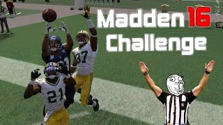 Can I Recreate the FAIL MARY??? MADDEN NFL 16 CHALLENGE