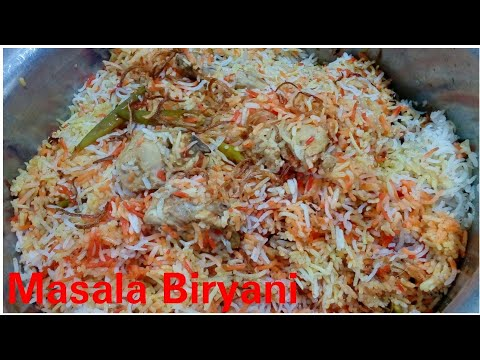Masala Biryani Recipe By Kitchen with Rehana