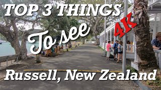 TOP 3 ATTRACTIONS - Russell, Bay of Islands, New Zealand