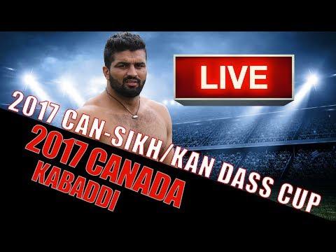 CANADA Kabaddi 2017 - Can Sikh/Kan Dhas Kabaddi Cup
