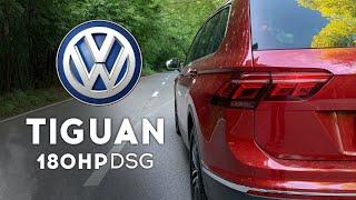 VW Tiguan - как едут 180 сил? Разгон 0 - 100