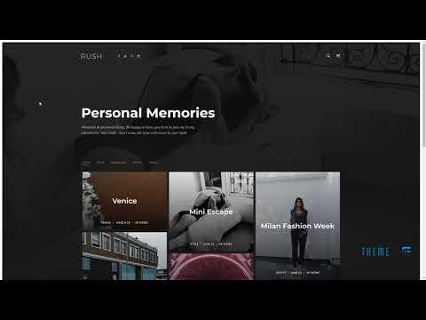 Rush - Blog HTML Template        Ernie Ern