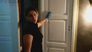 реставрация старой двери! Как придать новый вид двери своими руками! Декоративная штукатурка!