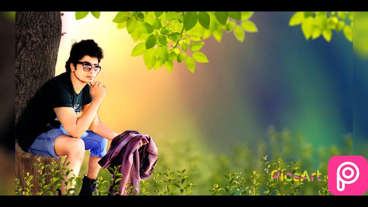 Change Background Picsart With Dslr Blur Look Picsart Dslr Effect