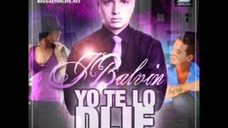 J Balvin Yo Te Lo Dije Chopped And Screwed 2013 Dj Remixx