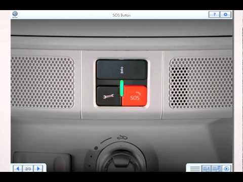 Volkswagen Car-Net™ — SOS Button