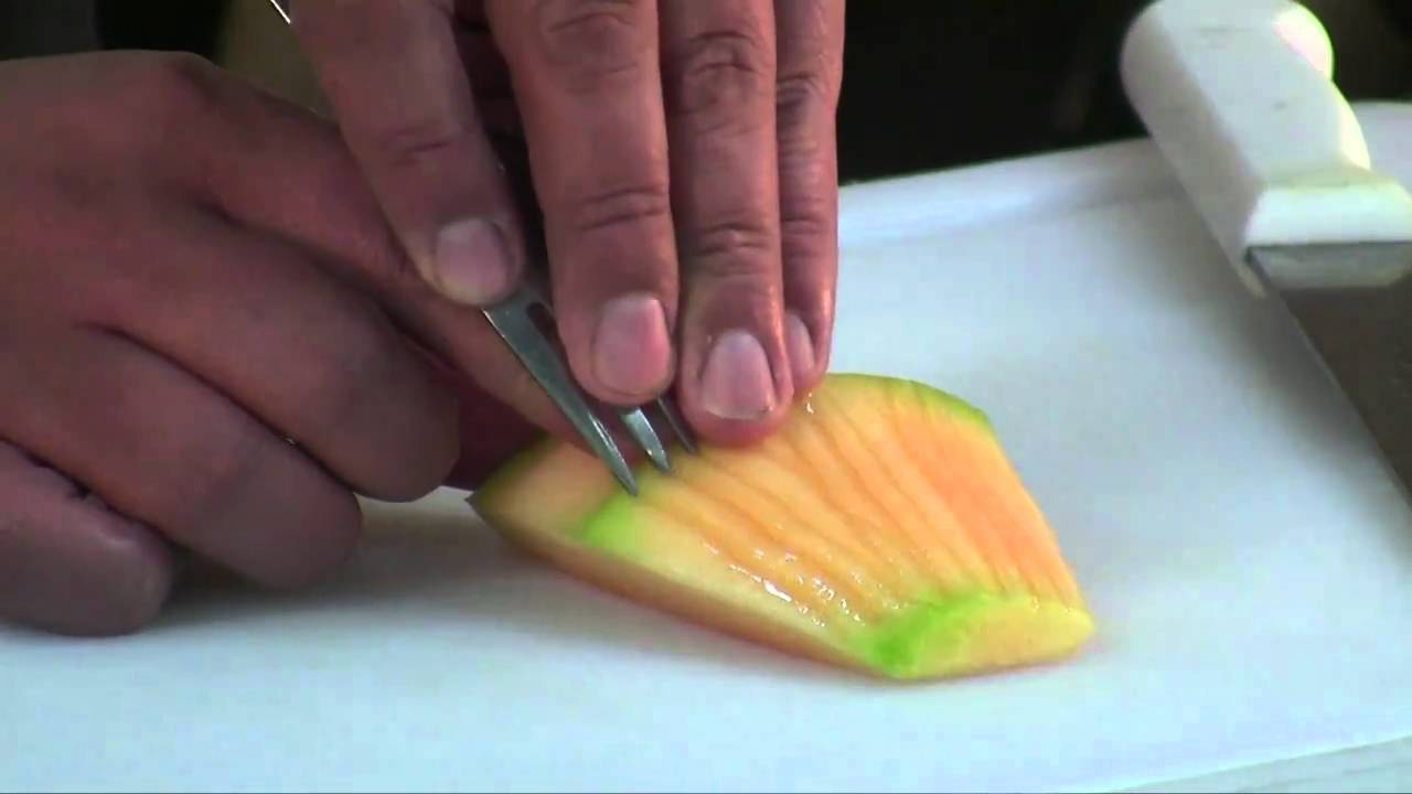 Cocina f cil platos con frutas youtube for Como secar frutas para decoracion