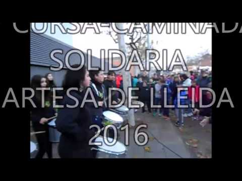 CURSA-CAMINADA SOLIDÀRIA 2016 - ARTESA DE LLEIDA