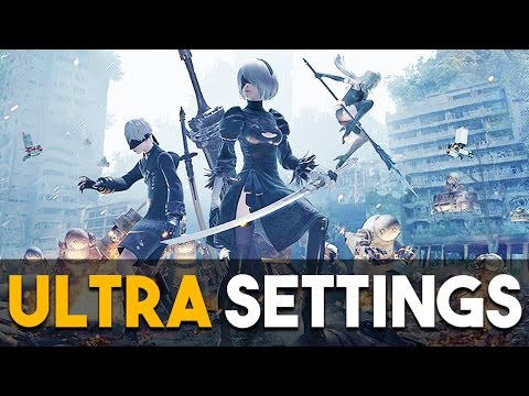 NieR Automata PC Ultra Settings Gameplay