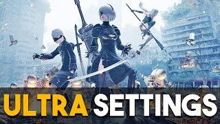NieR Automata PC Ultra Settings Gameplay