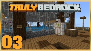 Truly Bedrock S0 EP3 : Iron Farming with Prowl! [ Minecraft, MCPE, Bedrock Edition,Windows 10 ]