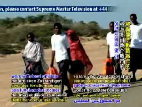 Thay are assist Somali asylum seekers.(協助尋求庇護的索馬利人)