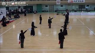 SHIZUOKA vs KYOTO 10th All Japan Interprefecture Ladies KENDO Championship 2018 2nd Round