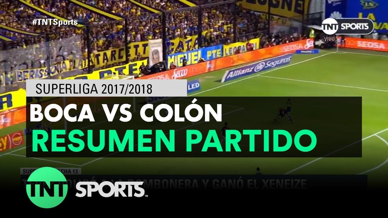 Resumen de Boca vs Colón (2-0) | Fecha 13 - Superliga Argentina 2017/2018