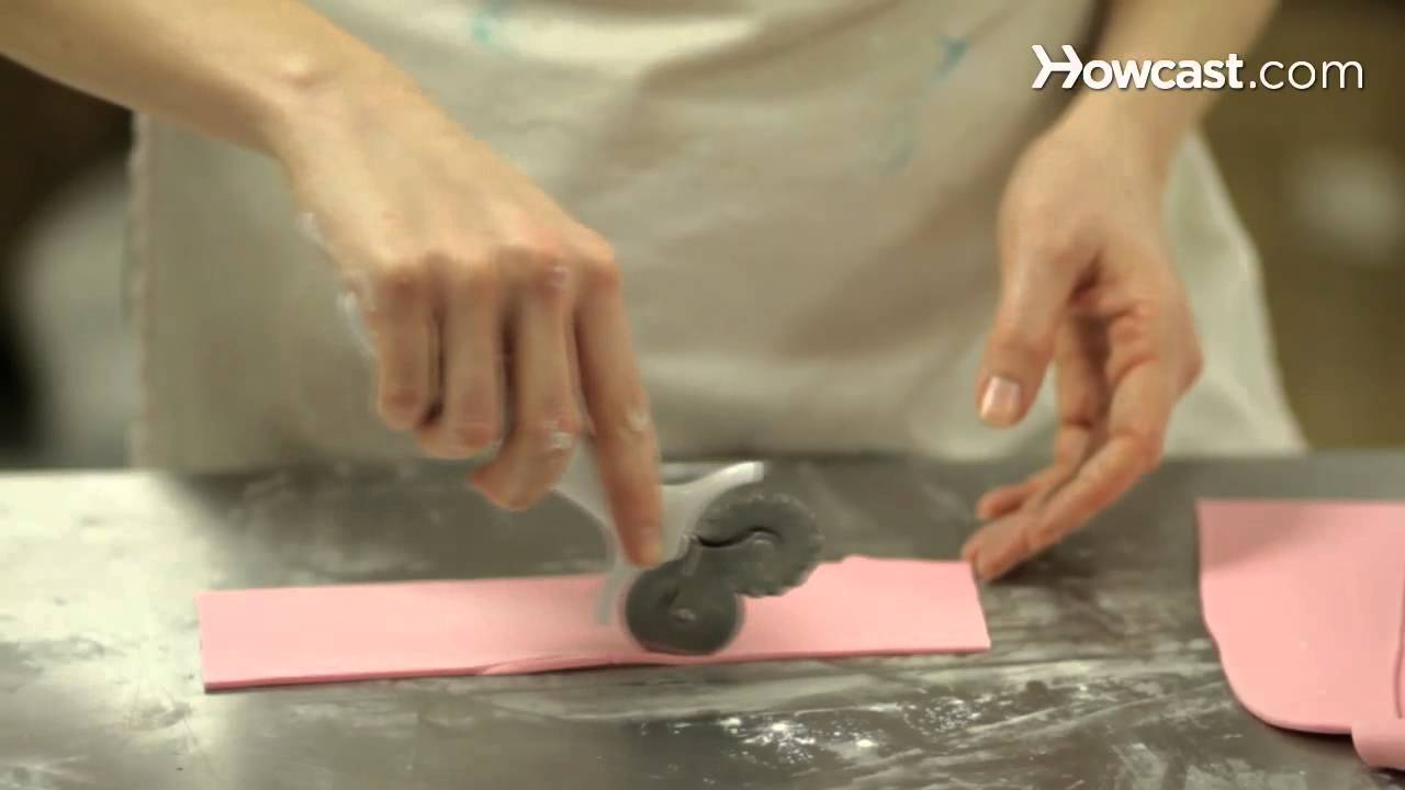 How to make a fondant bow youtube