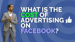 what is the cost of advertising in facebook