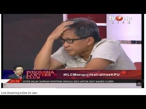 ILC TV One Semalam, Rocky Gerung Pegang Kepala Saat KPU Bicara & Reaksi Karni Ilyas