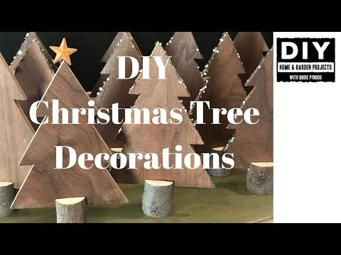 DIY Christmas Trees Decorations