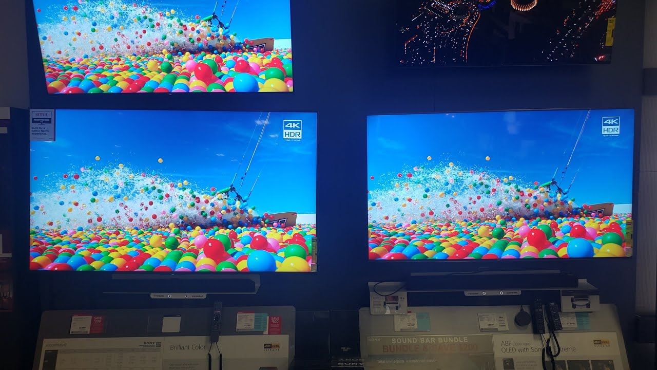 SONY 950G VS 900F SIDE BY SIDE COMPARISON