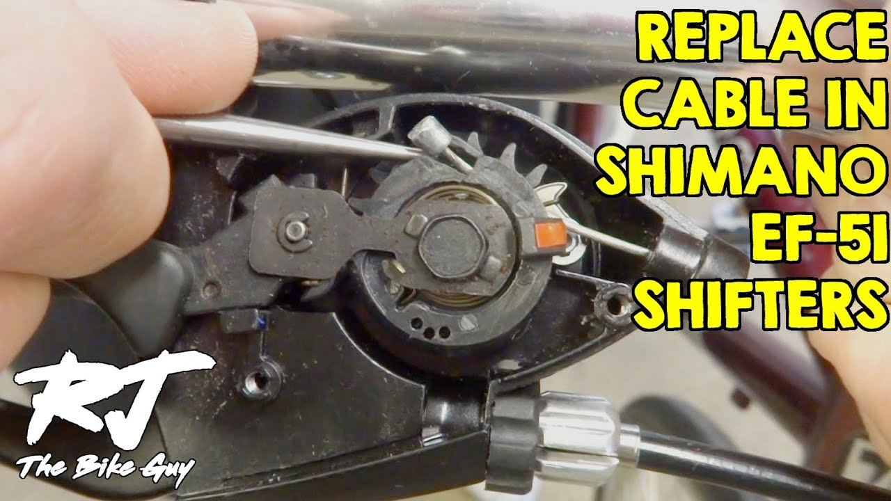Replace Shift Cable In Shimano Ef 51 Trigger Shifters
