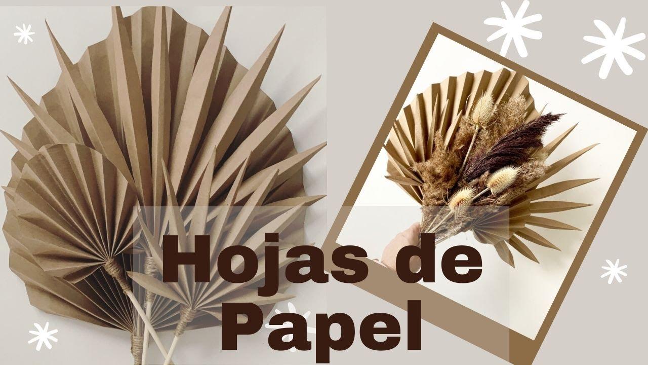 COMO HACER HOJAS DE PAPEL KRAFT Encasaconpatty