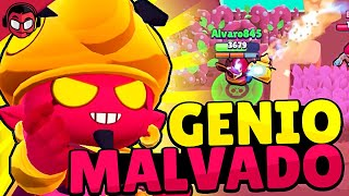GAMEPLAY CON LA SKIN DEL GENIO MALVADO | Sneak Peek | Brawl Stars