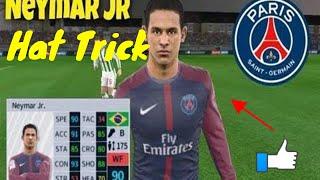 Neymar Jr. Scores Hat Trick in Dream League Soccer 2018