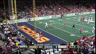 2015 Week 10 Arizona Rattlers at Spokane Shock