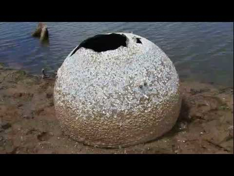 Columbia Tank Found on Lakebed
