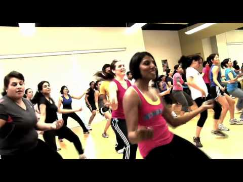 Promotional music video for Bollywood Fitness, San Jose, CA