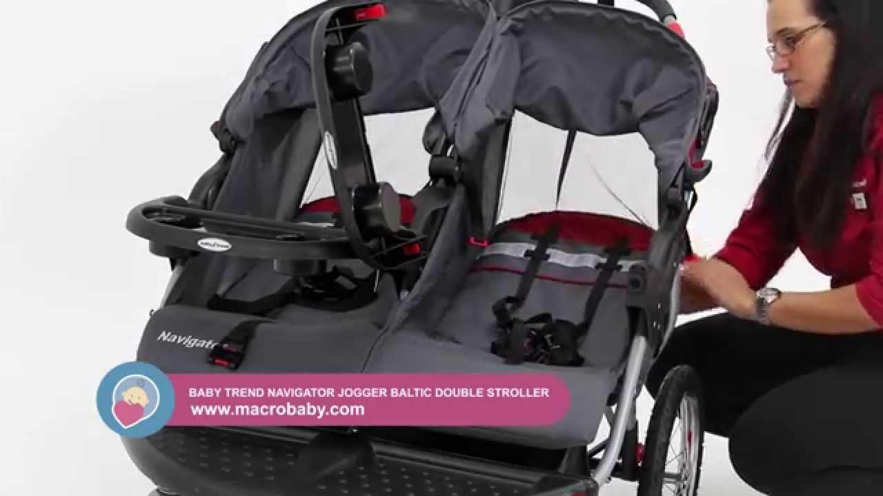 baby trend navigator double jogging stroller manual