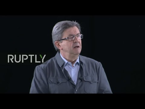 LIVE: Jean-Luc Melenchon holds campaign rally in Dijon