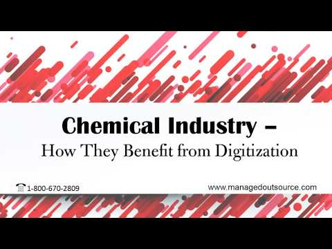 Chemical Industry - How They Benefit from Digitization